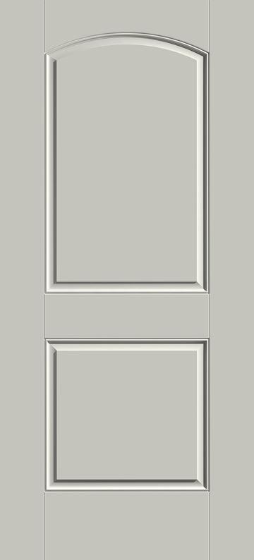 S200 - 2-Panel Arch Front Door