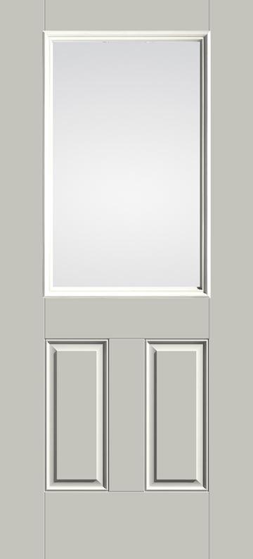 S206 - 1/2-Lite Door