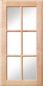Square Mullion Glass